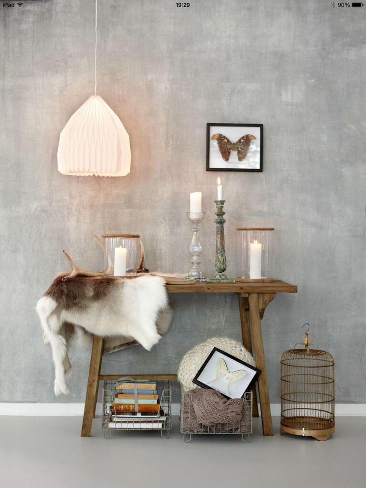 RTL woonmagazine mooie muur