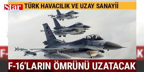 Türk Havacılık ve Uzay Sanayii F-16'ların ömrünü uzatacak: 1233535 - Türk Havacılık ve Uzay Sanayii (TAI) ve imalatçı Lockheed Martin işbirliğiyle gerçekleştirilecek F-16 Yapısal İyileştirme proje kapsamında Blok-30 uçaklarının 25 adedinin TAI tarafından, 10 adedinin ise Eskişehir 1. Hava İkmal Bakım Merkezi Komutanlığı tarafından modernize edilmesi planlanıyor. İlk uçakların modernizasyonun 2018 yılı sonunda ve son uçak modernizasyonunun ise 2023 Ağustosunda tamamlanması öngörülüyor…