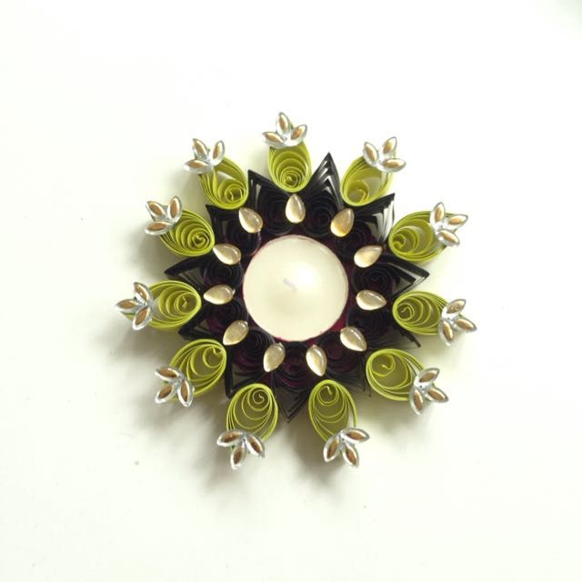 Quilled Candle Holder on Carousell