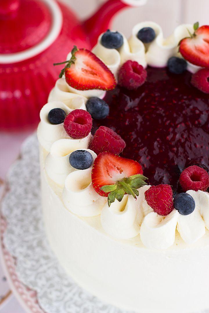 Tarta De Frutos Rojos Y Mascarpone 5