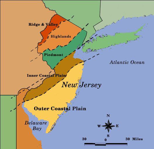 Best New Jersey Images On Pinterest New Jersey Jersey - Detailed map of nj
