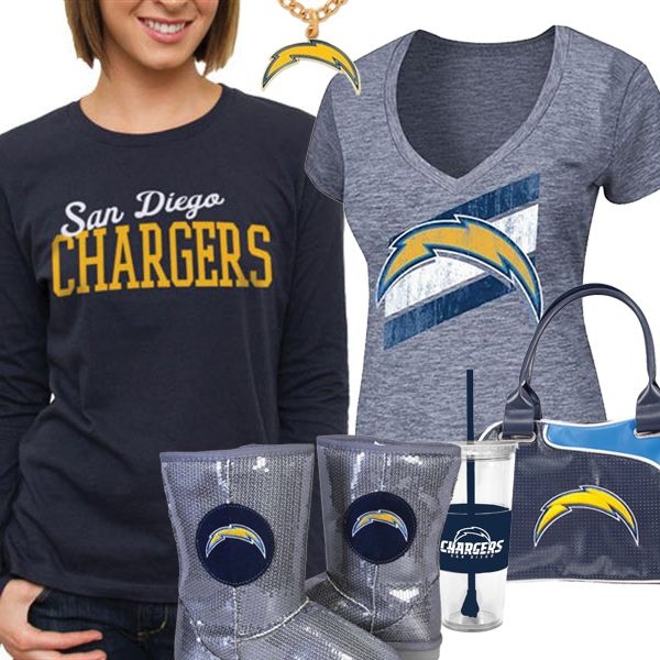 San Diego Chargers Baby Clothes: 17 Best Ideas About Fan Gear On Pinterest