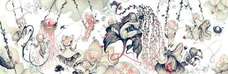 James Jean. Forever one of my favorite artists.