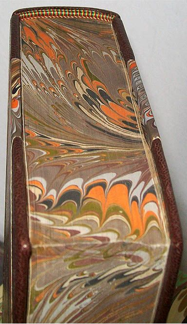 Marco Pedrosa marbled book edges and cover