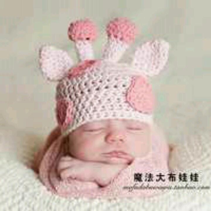 GIRAFFE HAT BABY KNIT