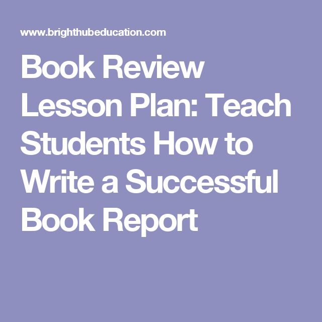Two Thumbs Up! Get Students Writing and Publishing Book Reviews