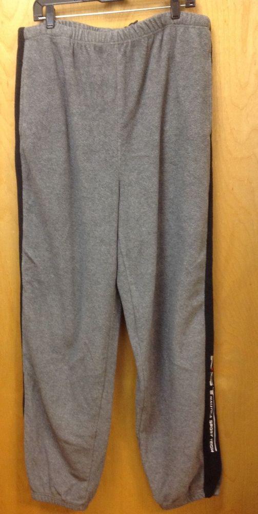 fd296c57eff2 Mens Nike Tech Fleece sweat pants Gray w  black stripe 34