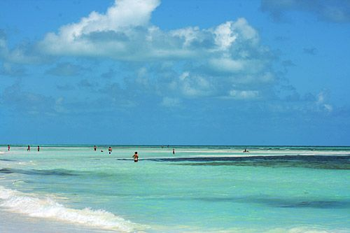 Stunning, achingly beautiful Sandspur Beach at Bahia Honda State Park, Big Pine Key, Florida.
