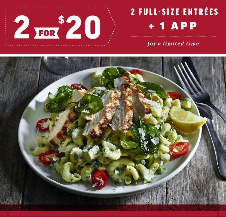 Spinach and Artichoke Chicken Cavatappi - Applebee's