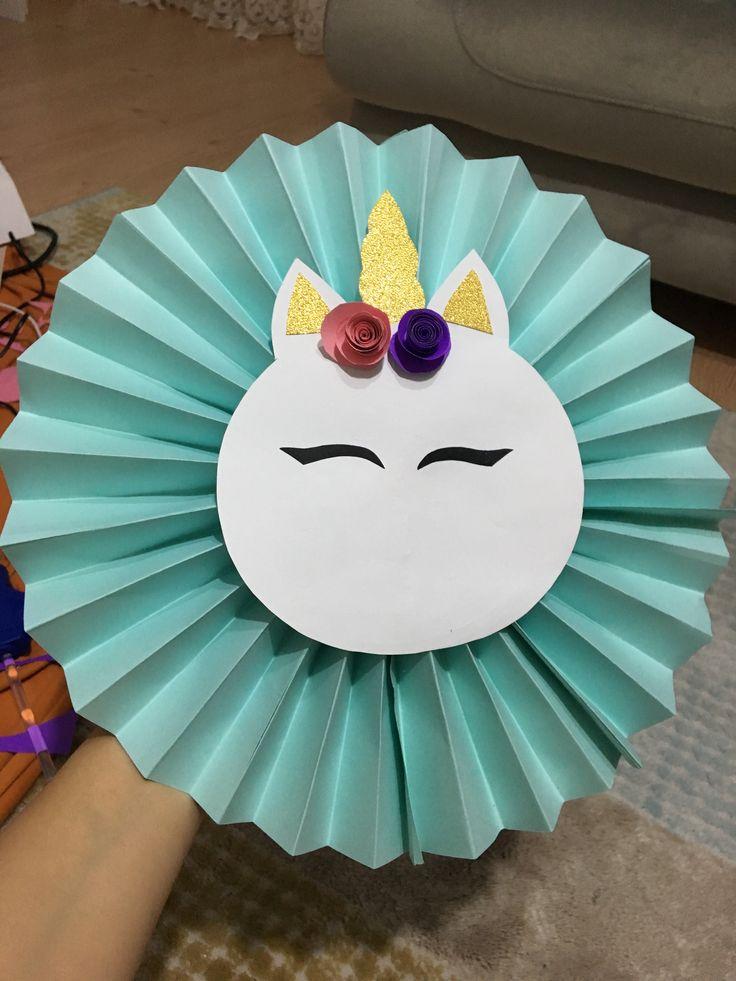 Unicorn doğum günü parti dekoru ❤️