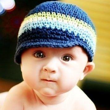 Visor Beanie  Sooo cute!