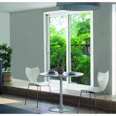 Good Cost Effective Option For Plate Glass? Stanley Doors Double Sliding Patio  Door Clear LowE   Nice Ideas