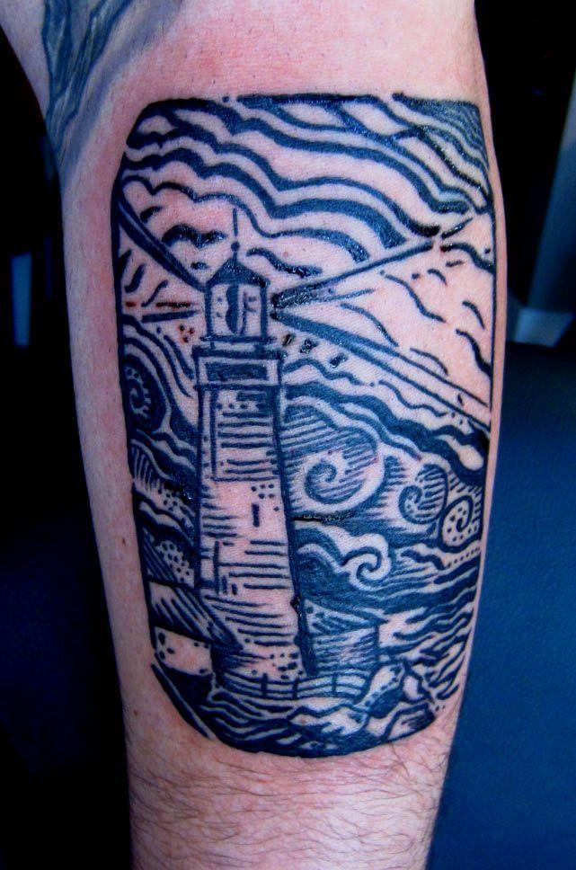 Woodcut Tattoo | woodcut tattoo | ART + INK | Pinterest