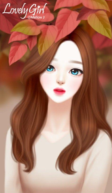 Enakei y enakei y gambar wanita fotografi remaja - Cartoon girl wallpaper ...