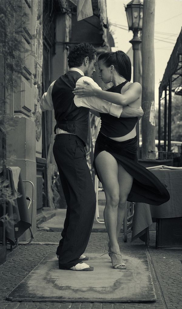 Black And White Photography  Dancing the tango...one of these days.