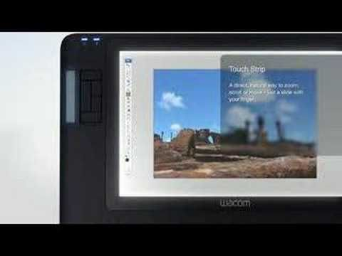 Wacom Cintiq 12WX Video