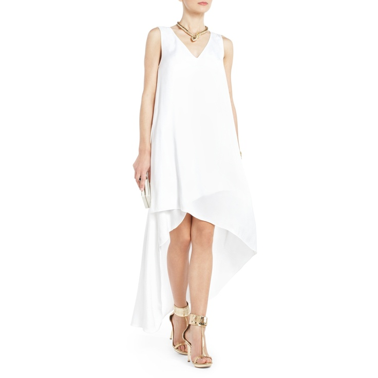 Bcbg Avery Asymmetrical Dress Very Relaxed Design Beach Wedding Maybe With Shell And