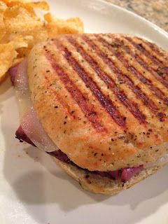 ... Beef Grilled / Panini on Pinterest | Paninis, Roast beef and French