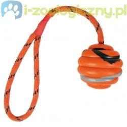 Trixie Zabawka dla psa piłka na sznurze