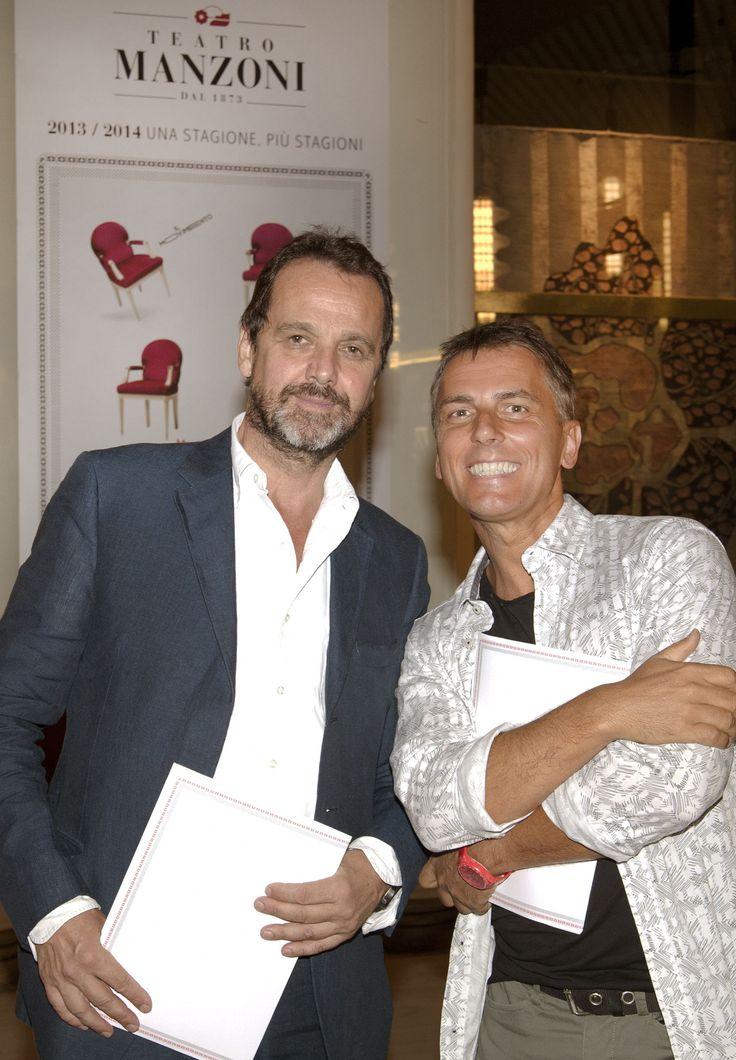 Antonio Gnecchi Ruscone e Maurizio Colombi