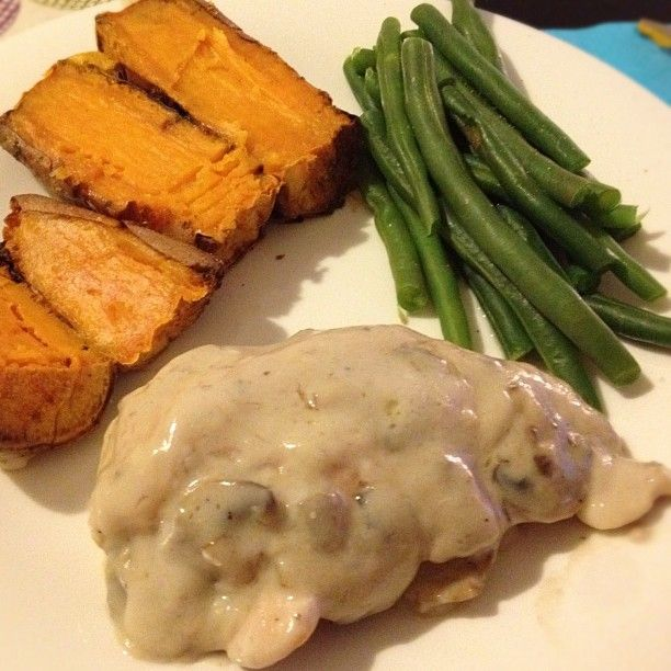 Easy Cream of Mushroom Chicken | Housewife Glamour