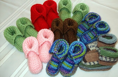 MommaBearKnits2(Too) for Babies and more.  This is a pattern for baby booties called Magic Number. They can be worked in Worsted, DK or Fingering Yarn.