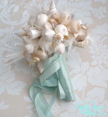 Perfecte corsage voor een strand bruiloft