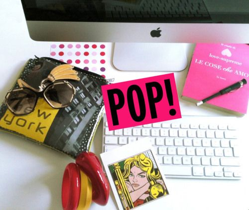 by Laura love - on MY DESK : the style spy POP! Dotdotdot!