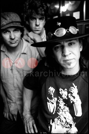 Stevie Ray Vaughan and Double Trouble - saw him in 1987.  Amazing; such a tragic loss.