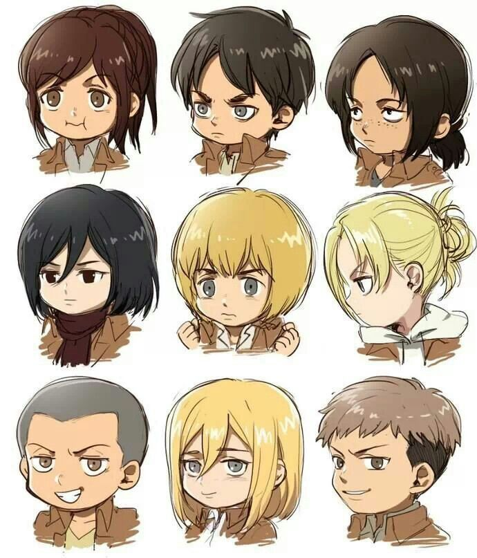 104th Trainees Squad Attack on Titan http://anime.about.com/od/Attack-on-Titan/ss/The-5-Best-Characters-in-Attack-on-Titan.htm
