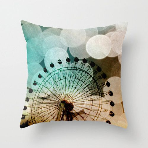Ferris Wheel Pillow. Fighting the urge to buy for my reading chair.