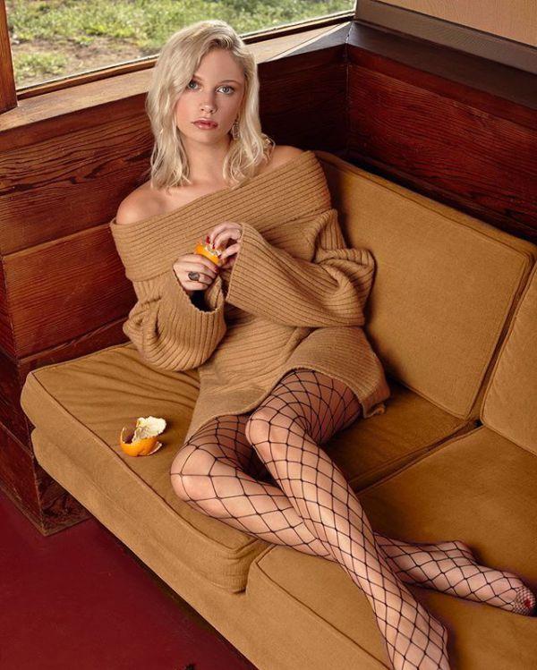 Can you smoke in pantyhose blonde