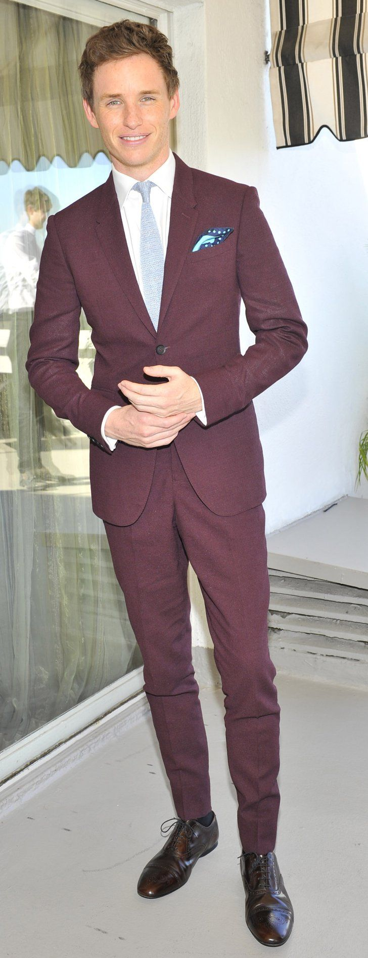 It's Official: No One Wears a Suit Better Than Eddie Redmayne