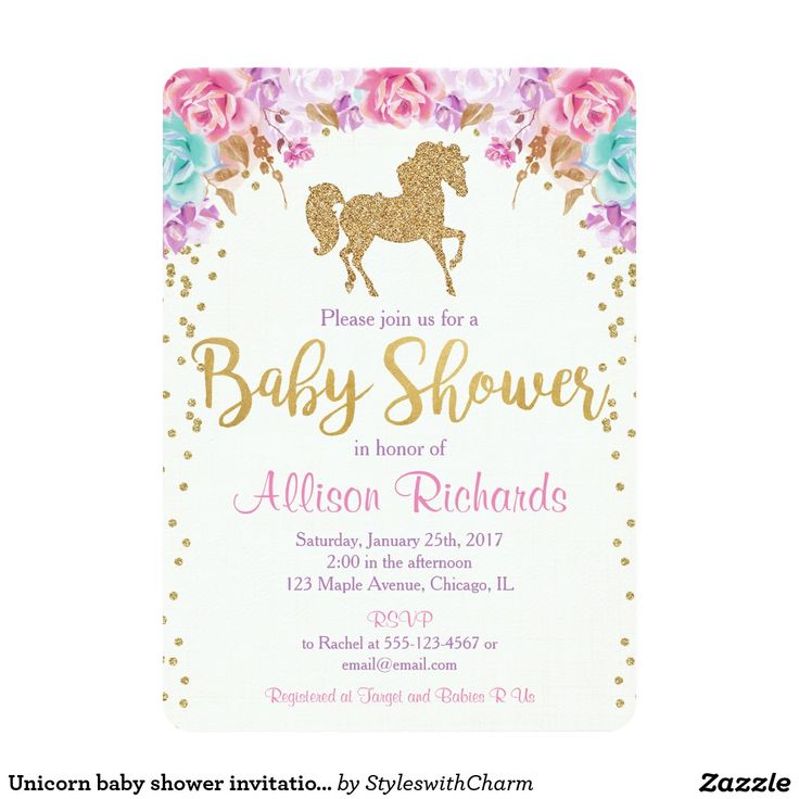 Baby Shower Unicorn Theme ~ Best ideas about unicorn baby shower on pinterest