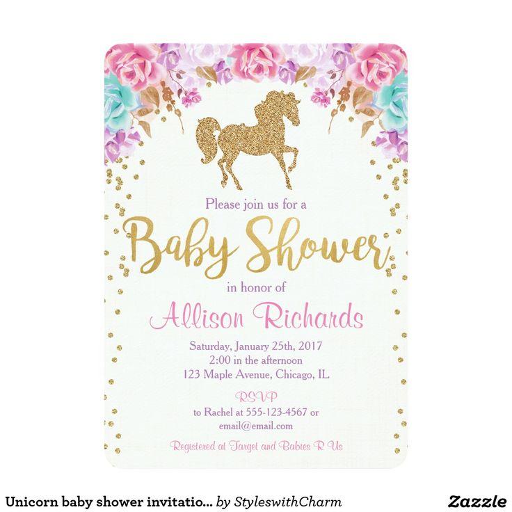 best 20+ unicorn baby shower ideas on pinterest | unicorn gifts,