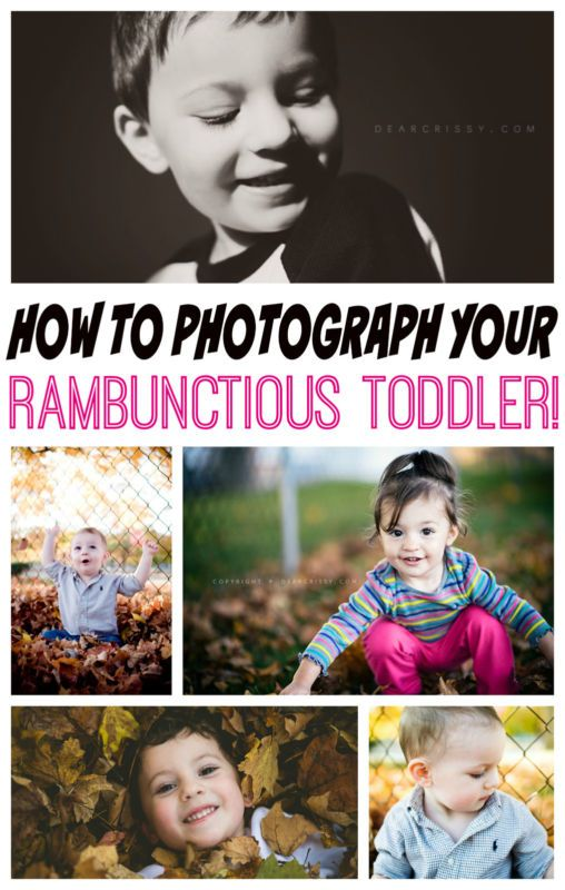 How to Photograph Your Rambunctious Toddler - This guide offers some great tips, tricks and product picks to help you take photos of your toddler that aren't one big blur!