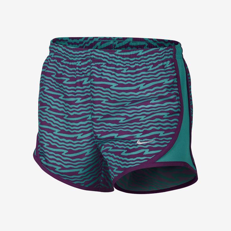 Nike Tempo Graphics Girls' Running Shorts. Nike Store