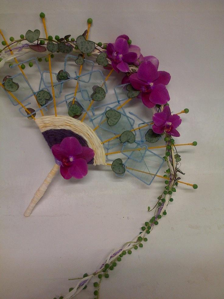 floral fan