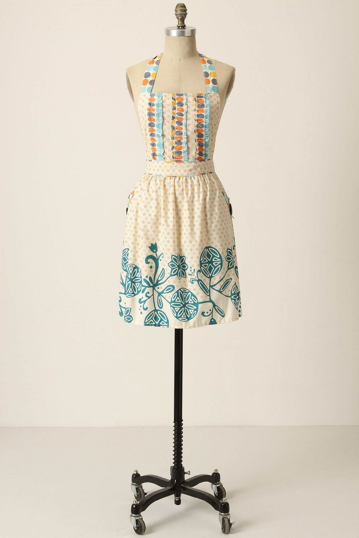 Apron: Anthropology Aprons, Dotty Matching, Crafts Ideas, Aprons Ideas, Gifts Ideas, Matching Aprons, Cute Aprons, Cooking, Anthropologie Com