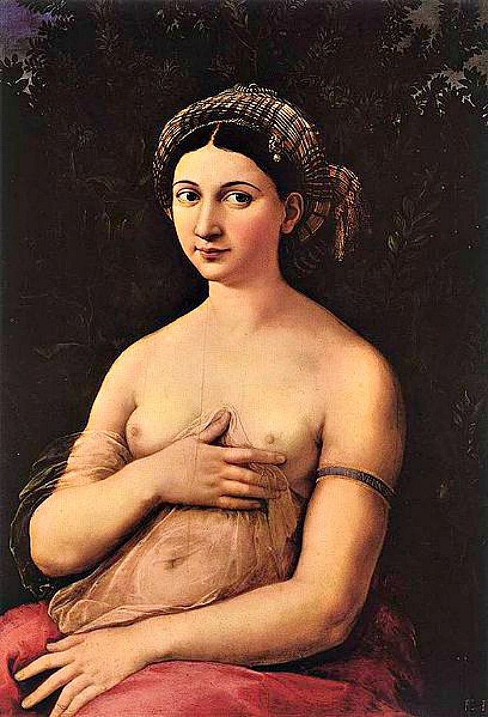 Italy's Most Mysterious Paintings: Raphael's La Fornarina