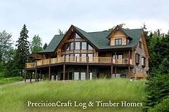 the modern log cabin