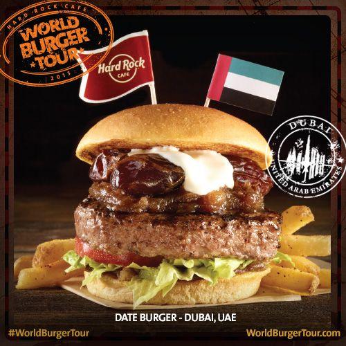 Date burger - DUBAI, EMIRADOS ÁRABES #WorldBurgerTour