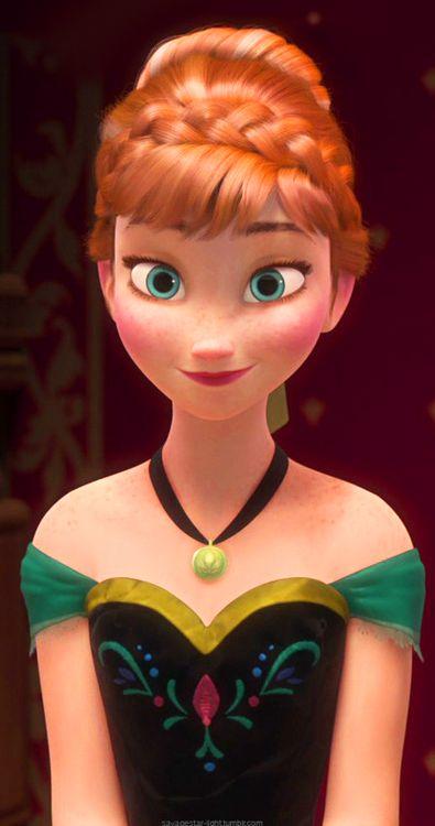 A sister! Princess Anna