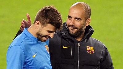 "Gerard Piqué: ""I had no conflict with Pep Guardiola"". The defenser says he has good relationship with his former coach."