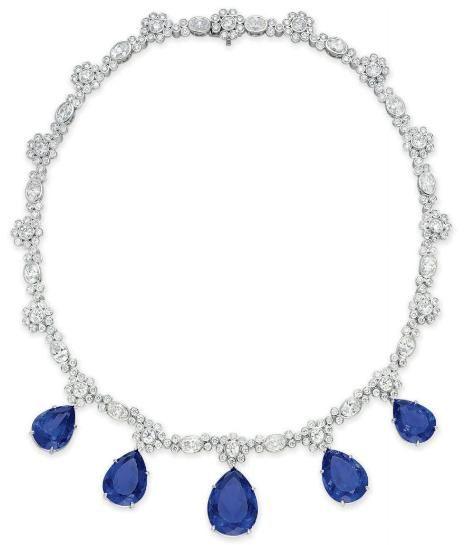 Diamond and Tanzanite Necklace    Tiffany & Co.    Christie's