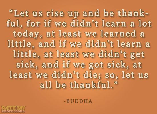 Learning and siddhartha