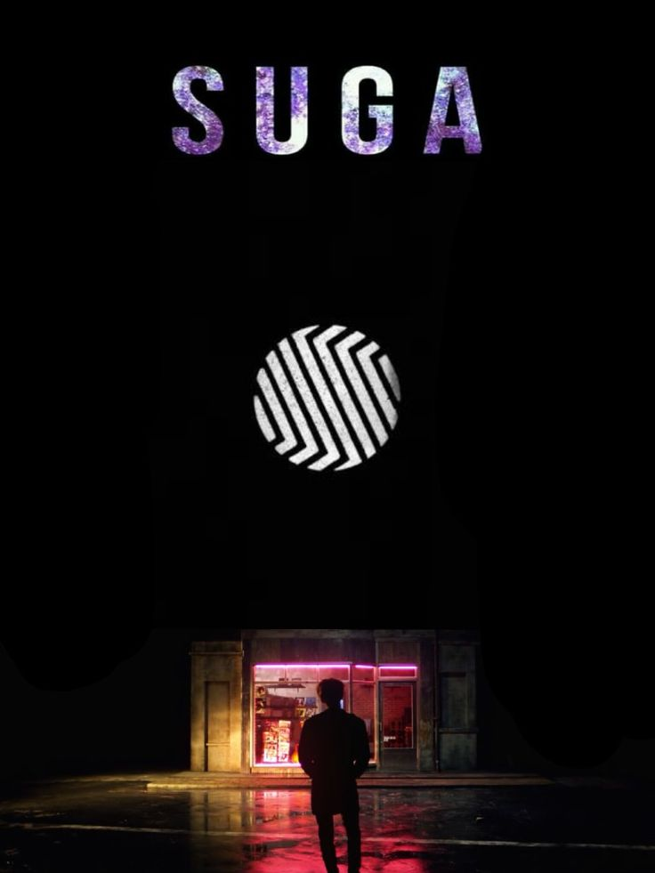Suga. #Wings concept wallpaper. Please give credits if you share.