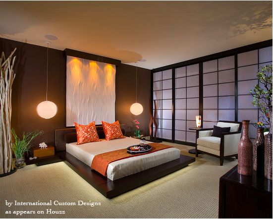 Asian bedroom zen guest room feng shui feng shui for Feng shui master bedroom ideas