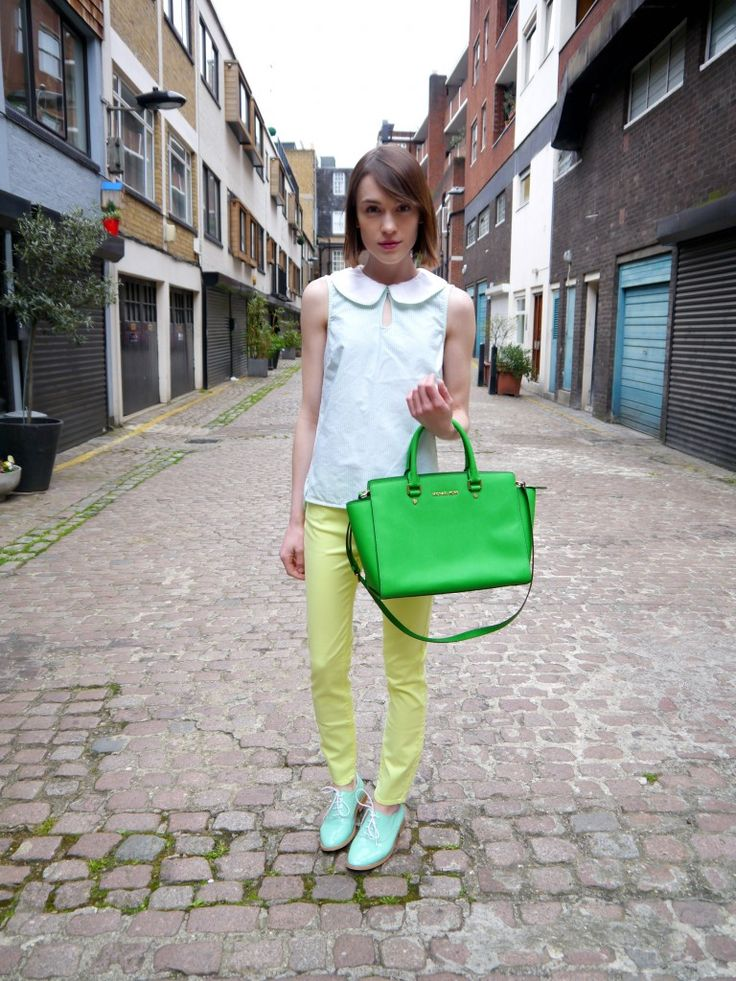 Neon Jeans: Preppy...