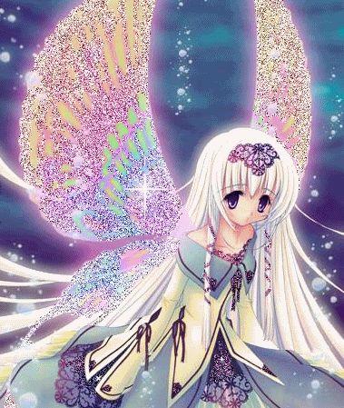 Анимационные картинки ангелов